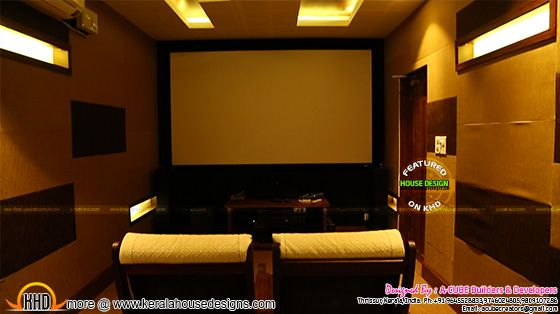 Home cinema theater