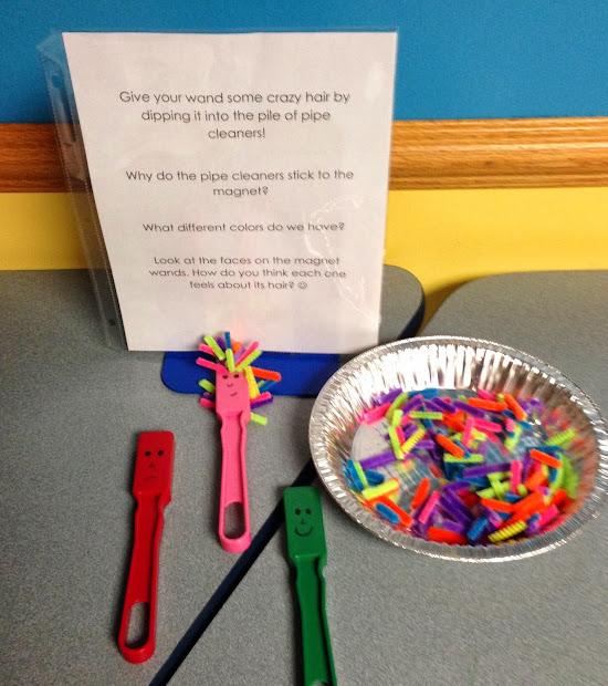 Abby Librarian Preschool Lab Magnets