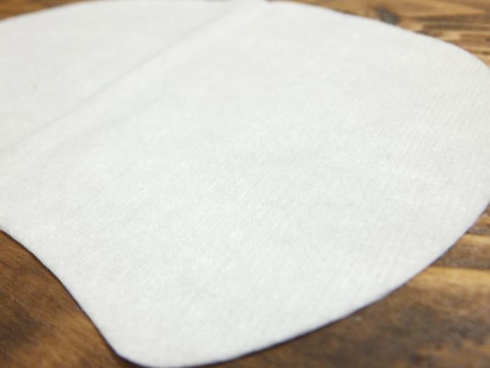 ア・セーヌの汗とりパットの形状