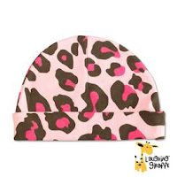 Image of a Pink Leopard Beanie