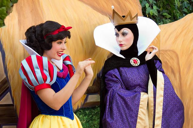 Personagens de A Branca de Neve na Disney