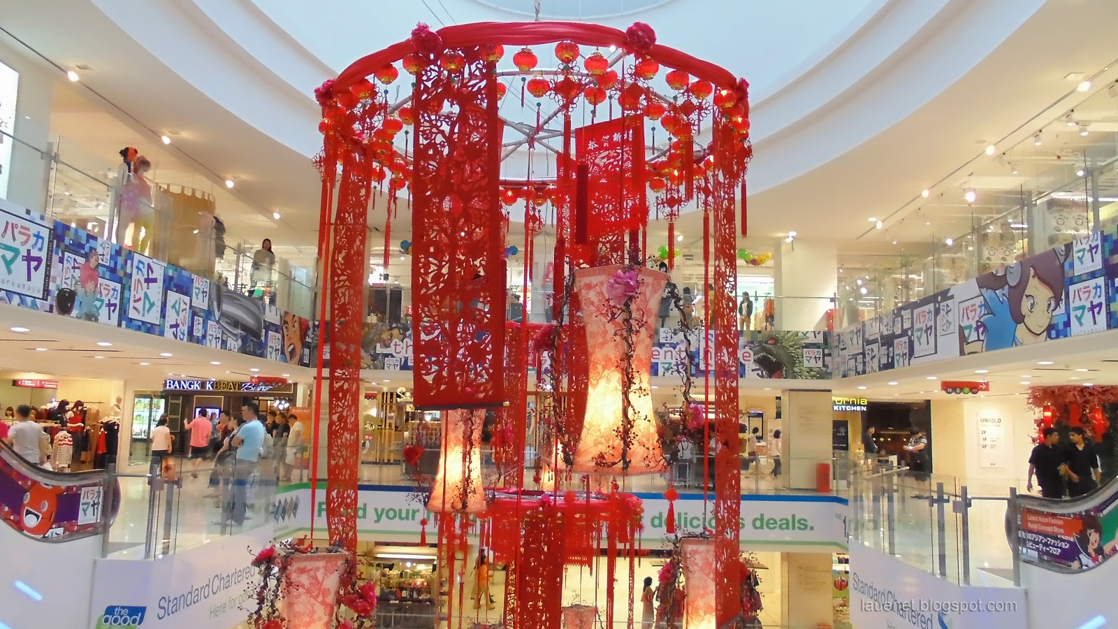 my eblog: 2013 Chinese New Year Decoration in Shopping ...