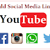 Youtube Channel Art Me Social Media Widgets Kaise Add Kare - Useful Tips
