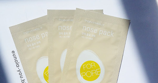 Tony Moly Nose Pack Review | Korean nose strips