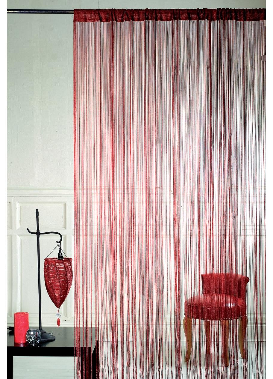 rideau fil. Black Bedroom Furniture Sets. Home Design Ideas