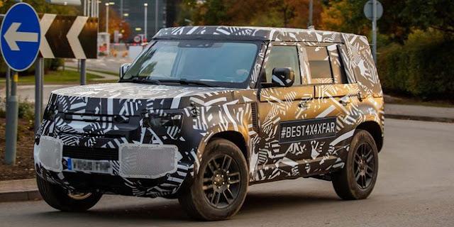 Generasi Terbaru Land Rover Defender Meluncur Di Tahun 2020  Dengan Versi LIstrik