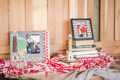 Rustic barn wedding meets vintage fairy tale. Meadow Creek Farm North Alabama Wedding Venue. Vintage Beauty and the Beast inspired wedding reception decoration ideas. University of Alabama football grooms cake table