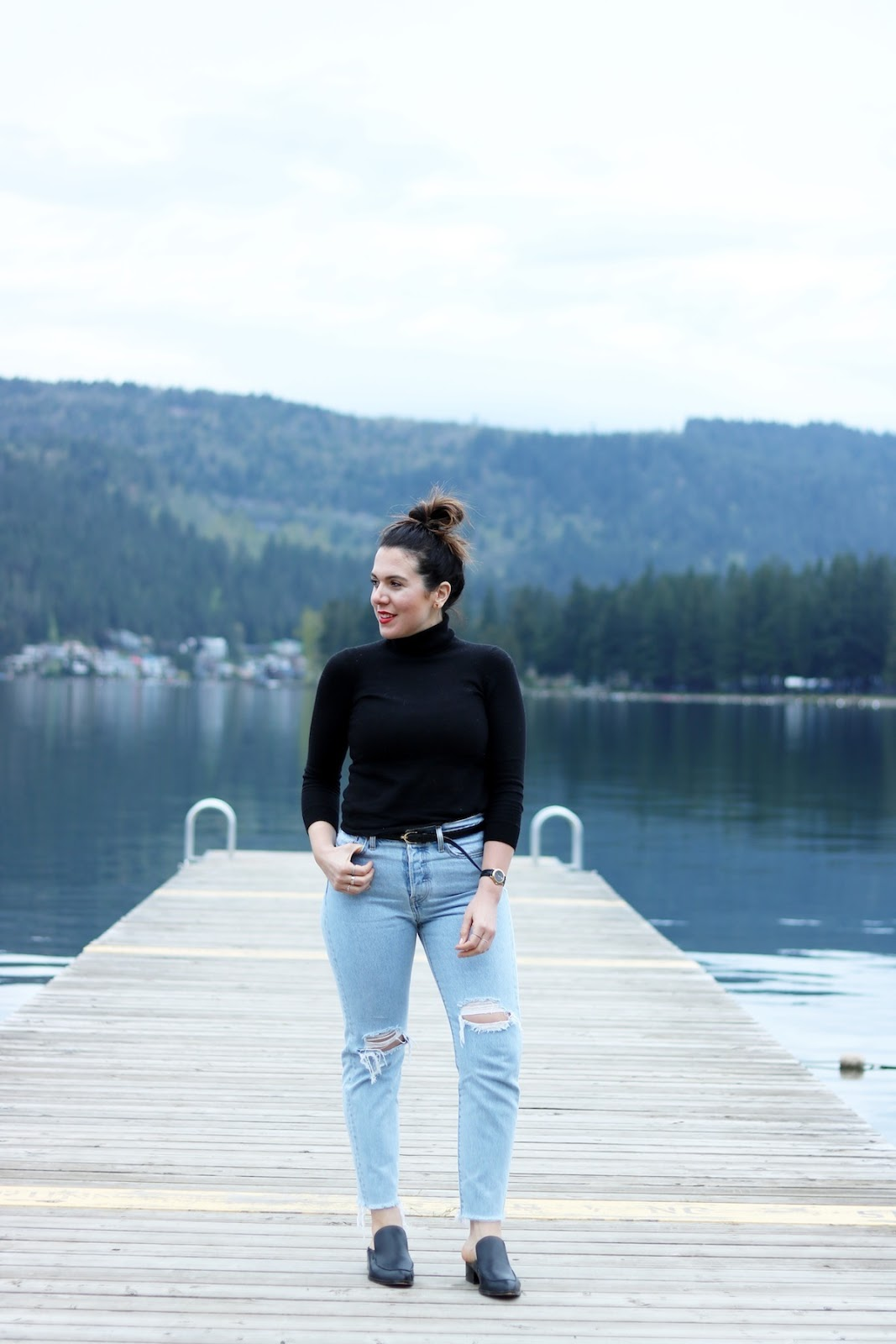 Levi's Wedgie jeans vancouver fashion blogger