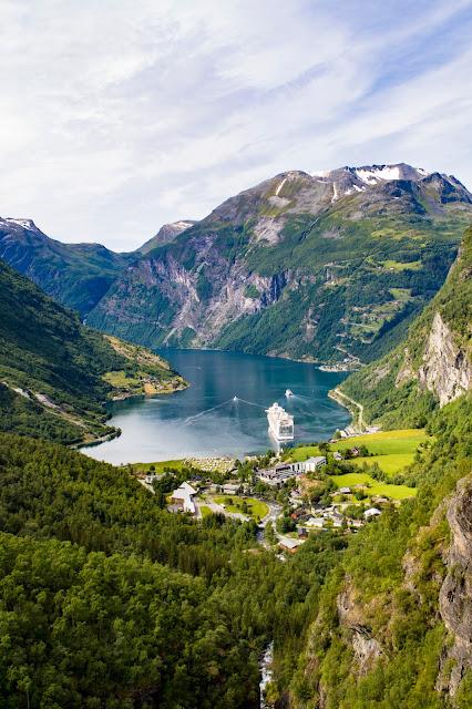 Punto panoramico sul Geirangerfjord