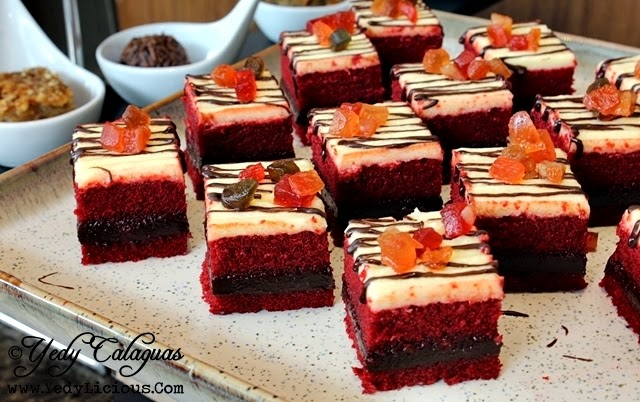 Red Velvet Cake United Taste of America Buffet at F1 Hotel Manila