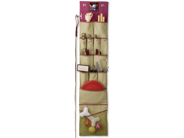 Over the door pet organizer :: OrganizingMadeFun.com