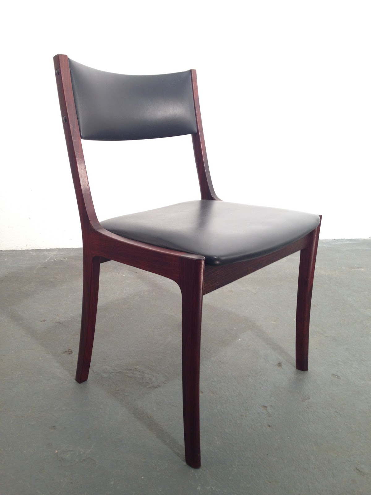 Retro Dining Chairs Ireland Fishing Fighting Chair Vintage Furniture Ocd 1970s Rosewood