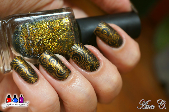 ILNP, Rapture, Ultra Chrome Flackies, multicrome, flocado, dourado, DRK-C