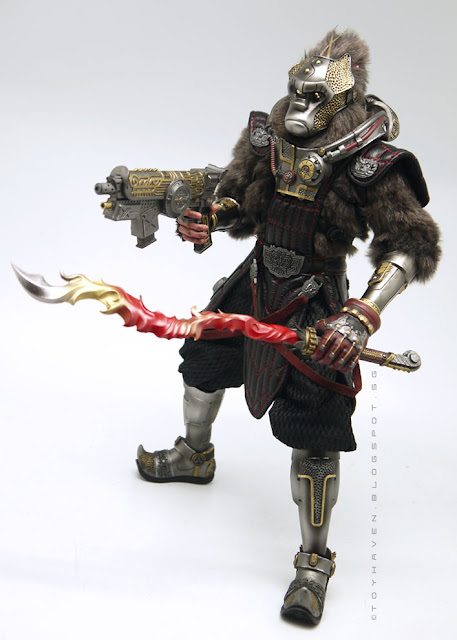 osw.zone Gate Toy X Winson Classic Creation 1: 6 Scale Time Wars Yuan Kong 12 Inch Figure Review II