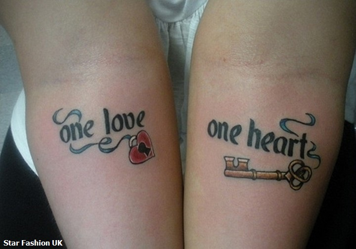 Uk Fashion Love Tattoo Designs For Couples