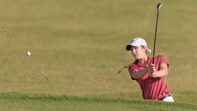 Trinity University golfer Lauren Pettinati