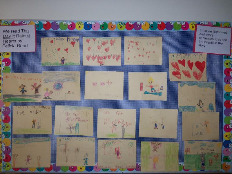 Kinder Garden: Mrs. Wood's Kindergarten Class: The Day It Rained Hearts
