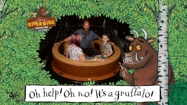 Sorry professor bubbleworks but we fell in love with the new Gruffalo ride at Chessington World of Adventures