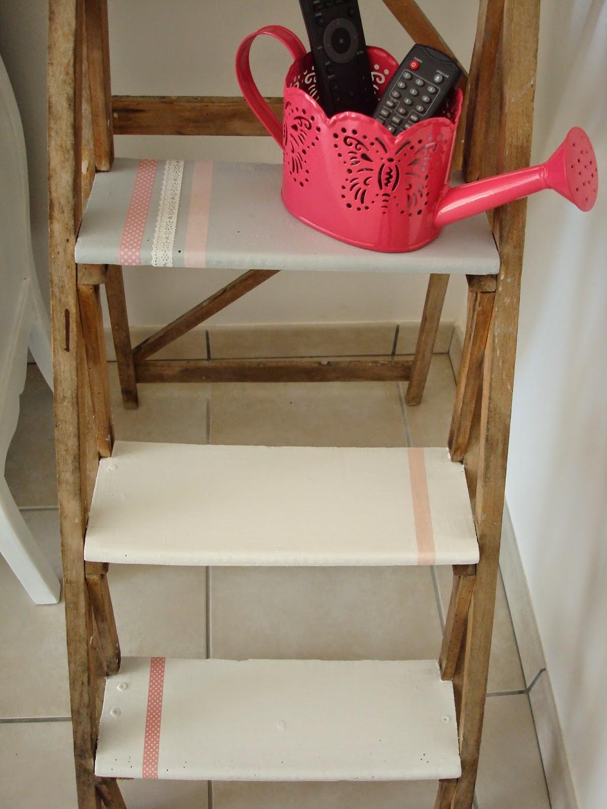 la d co d 39 alia peau neuve pour l 39 chelle en bois. Black Bedroom Furniture Sets. Home Design Ideas