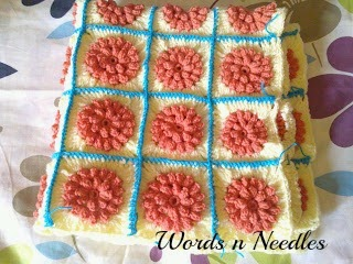 Granny square weekly challenge crochet
