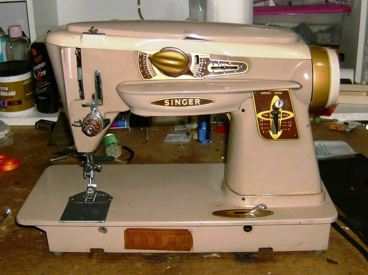 vintage sewing machines singer 500a will not form zig zag stitch. Black Bedroom Furniture Sets. Home Design Ideas