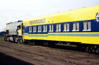 Suspenden servicios del Tren Patagónico por las intensas lluvias