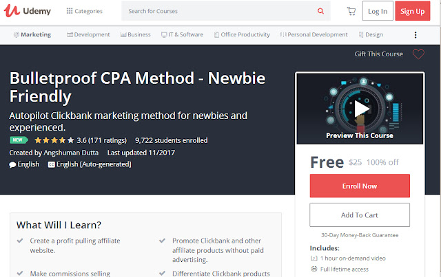 Bulletproof CPA Method - Newbie Friendly