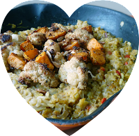 Vegetarian Spiced Roasted Cauliflower & Butternut Dhal Recipe