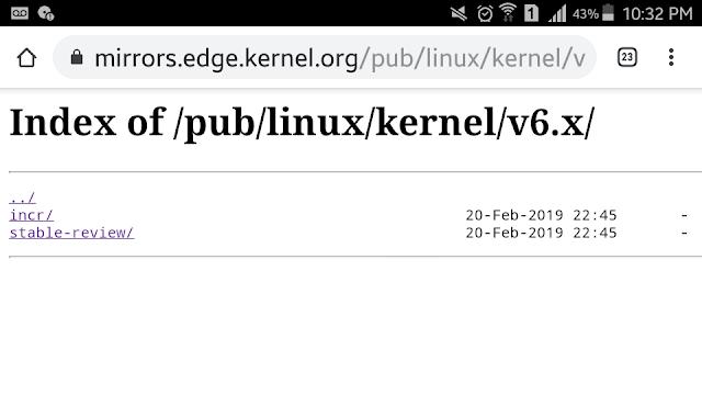 Kernel Linux 6.0?