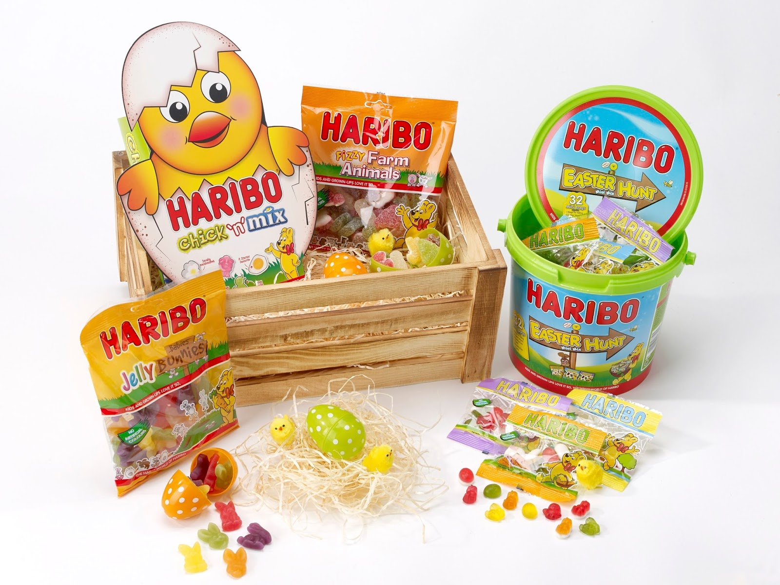 Haribo Easter Confectionary Selection - Easter Giveaway - motherdistracted.co.uk