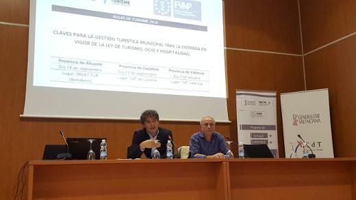 Turisme y la FVMP explican a los municipios de Castellón las novedades que se recogen en la Ley de Turismo, Ocio y Hospitalidad