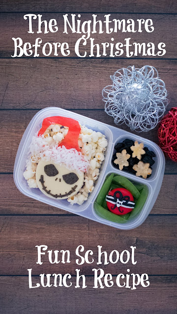 How to make a The Nightmare Before Christmas Jack Skellington Lunch!