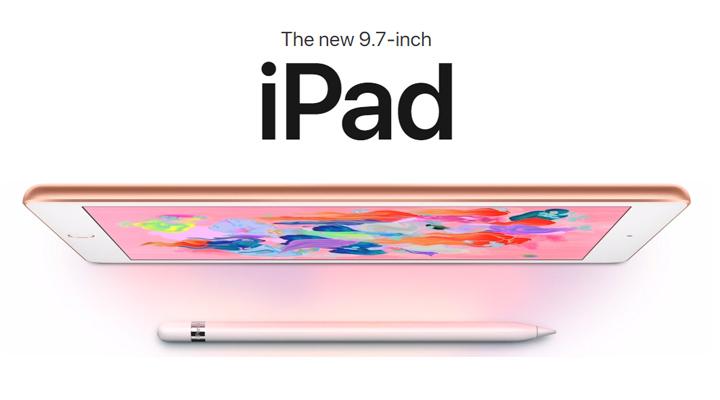 iPad 2018 Skrin 9.7 Inci Harga MYR1449