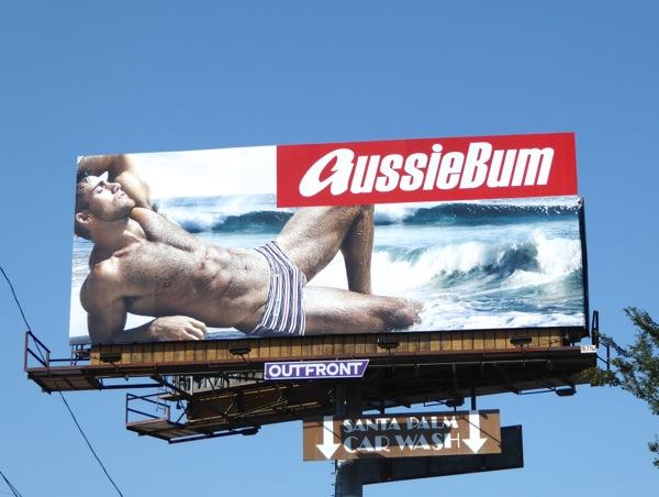 AussieBum Andrew Pap 2016 swimwear billboard