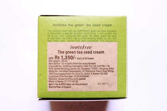 Fresh Side Effect Face Cream Beauty