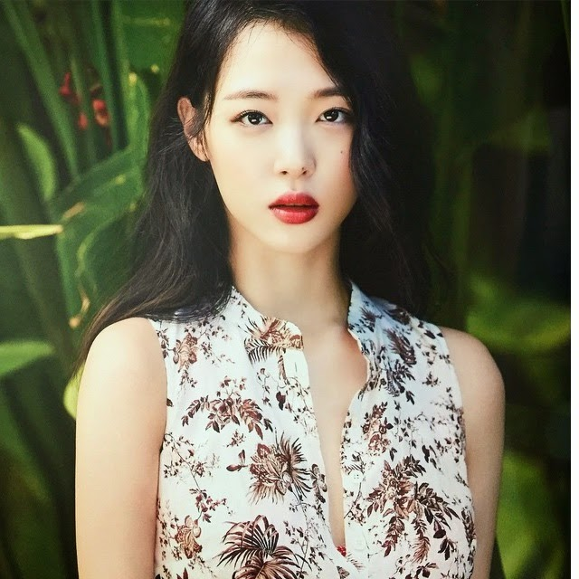 enjoy korea, hui, femme fatale, Sulli Pictorial June issue COSMOPOLITAN Background information Birth name Choi Jin Ri Born Genre K-pop Occupation Actress Singer Instruments Vocals Years active Labels S.M. Entertainment Associated acts f(x) SM Town