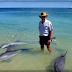 La playa de los delfines en Cancún