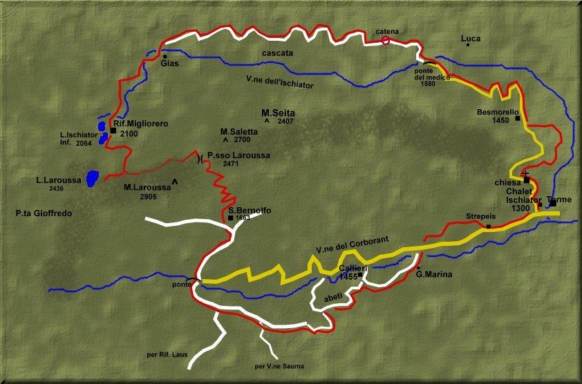 MUNTAeCHINNA TREKKING: Trek del Laroussa