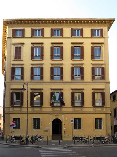 Maritime Health Office, via Strozzi, Livorno