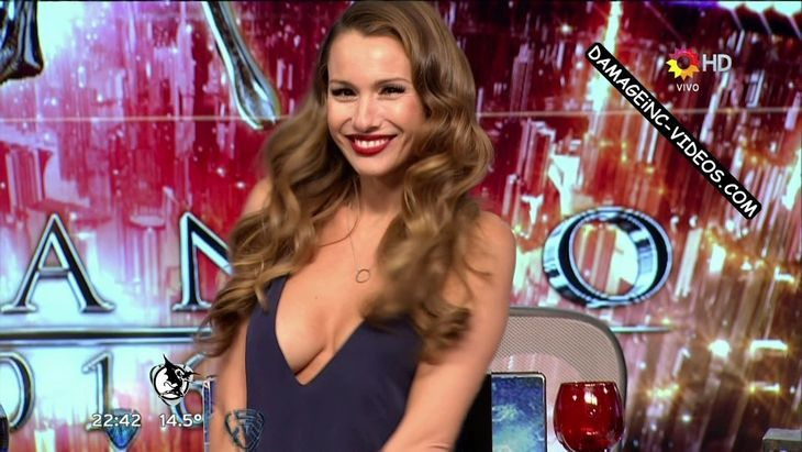 Pampita hot and deep cleavage Damageinc Videos HD