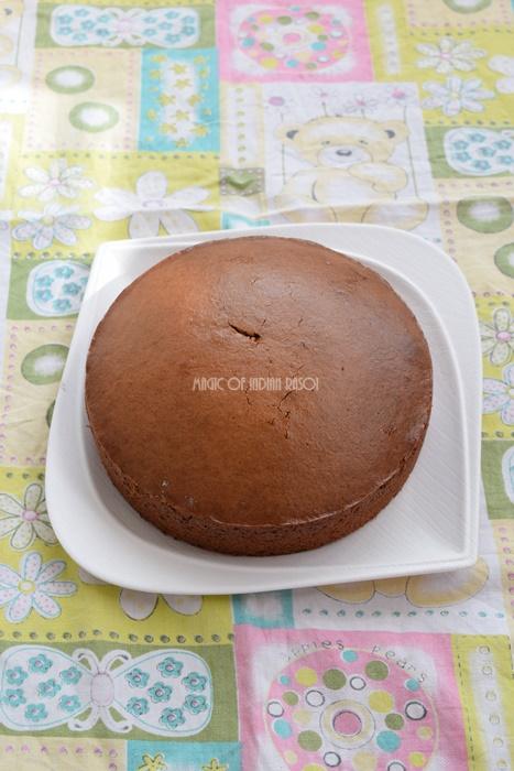 Best Eggless Chocolate Sponge Cake Recipe- Magic of Indian Rasoi - Priya R