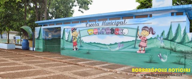 Resultado de imagem para escola dom bosco borrazopolis