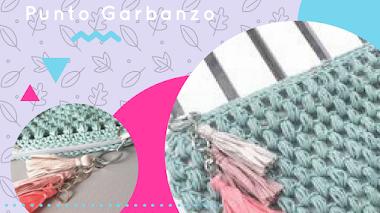 Neceser en Punto Garbanzo - DIY