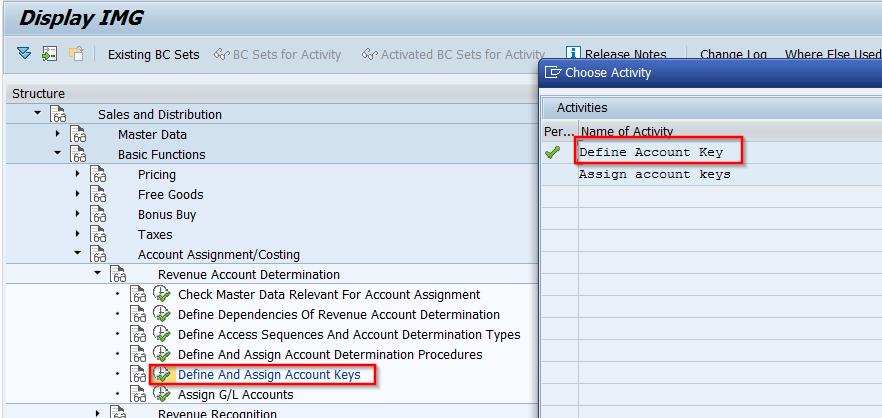 Revenue Account Determination Sap Sd