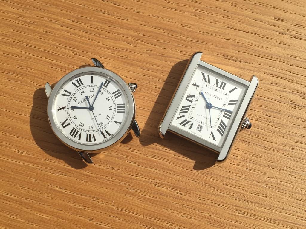 Cartier bracelet montre homme