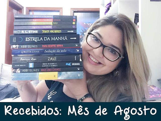 [Youtube] Book Haul de Agosto (2016)