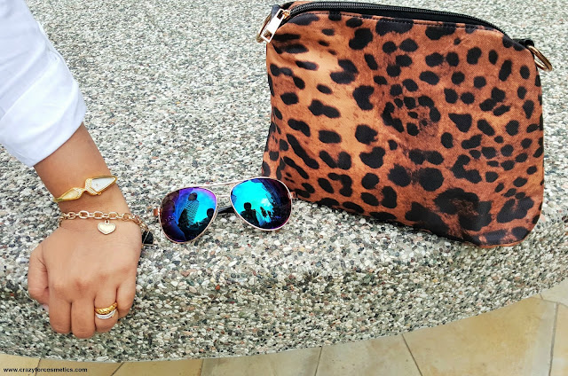 Animal printed bag