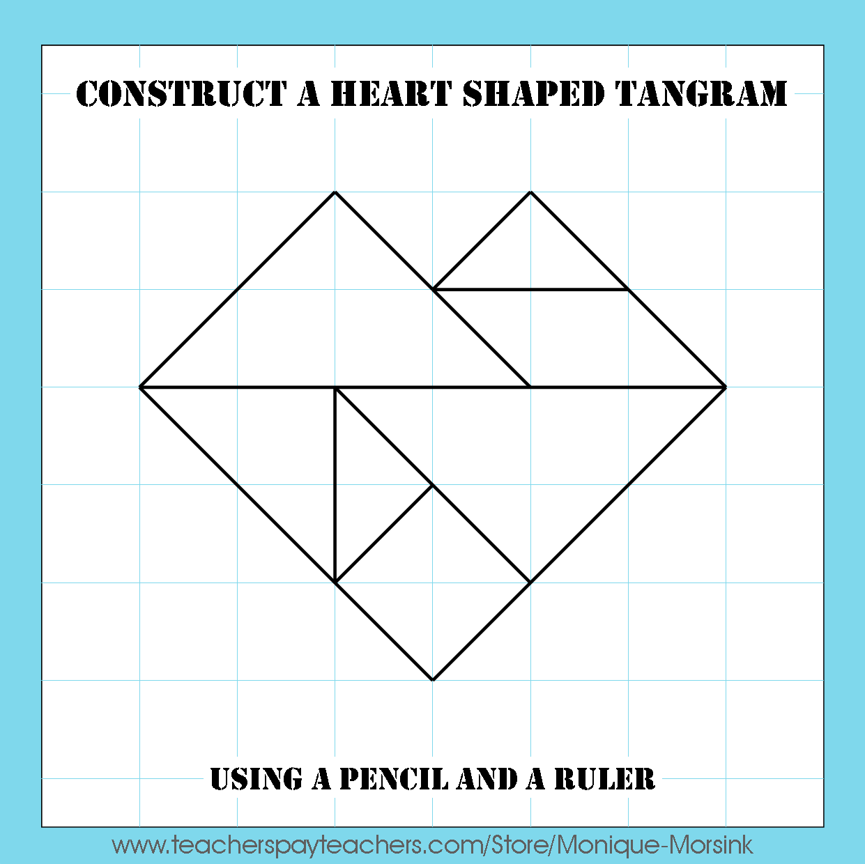 Colorful Tangrams Tangram Domino