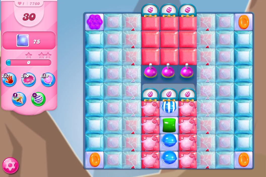 Candy Crush Saga level 7760