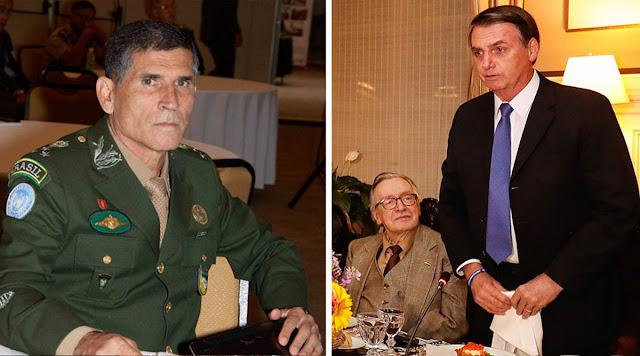 Conflito de militares com Olavo de Carvalho